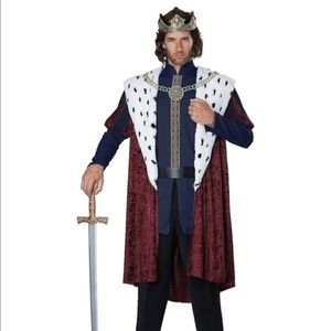 Adult Storybook King Costume Halloween by amazon